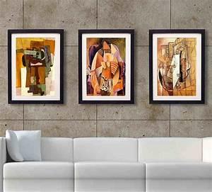 Framed wall art for living room vintage posters to for Framed wall art for living room