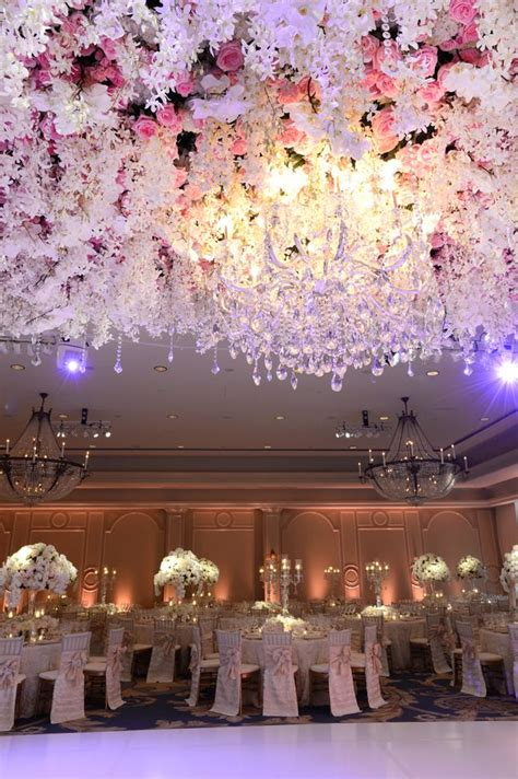 Grande Floral Ceiling Dream Wedding Extravagant