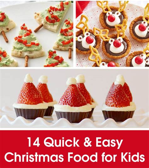quick easy christmas food  kids xmas food easy