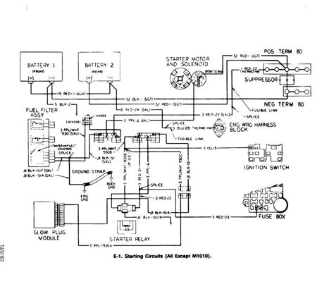 Cucv Electrical Circuit Diagram by Starter Circuit Thedieselpage Forums