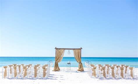 Serenity Wedding Package » Destin Beach Weddings In Florida