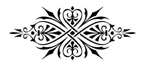 decorative motifs clipart   cliparts