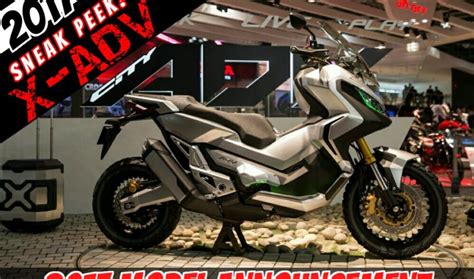 Honda X Adv Picture by The 2017 Honda X Adv Adventure Scooter Is Coming New