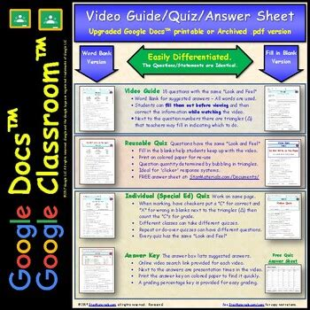 differentiated video worksheet quiz ans for bill nye light and color