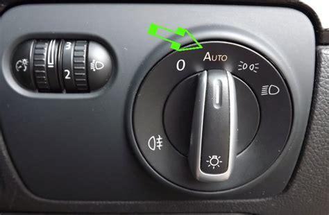 genuine vw auto dimming interior mirror rainlight