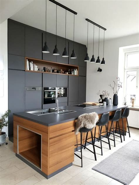 cocinas negras  querras copiar decoracion hogar