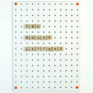 360 best block design pegboard images on pinterest With large pegboard letters