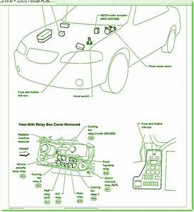 2002 Nissan Sentra Under Dash Fuse Box Diagram  U2013 Circuit