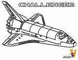 Coloring Space Shuttle Pages Getcoloringpages sketch template