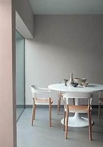 La plus originale table de cuisine ronde en 56 photos for Meuble salle À manger avec chaise bois blanc pas cher