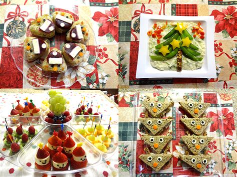 food decoration idea for kid s christmas party working