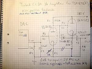 Tubed Ccda I  V Amp For Tda1541 A