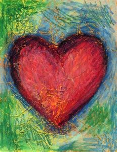 jim dine heart art projects  kids