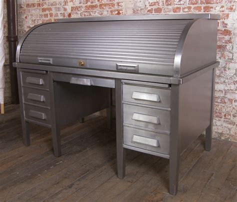 metal roll top desk metal roll top desk the awesomer