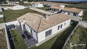 Maison Plain Pied En L : jolie maison de plain pied en l ~ Melissatoandfro.com Idées de Décoration