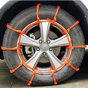 Chaine Pneu Voiture : 10pcs voiture camion neige glace boue cha nes pneu pneu pneu anti d rapant paissi tendon vente ~ Medecine-chirurgie-esthetiques.com Avis de Voitures
