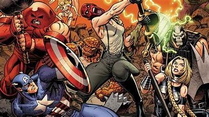 Marvel Avengers 4k Desktop Wallpapers Comic Background