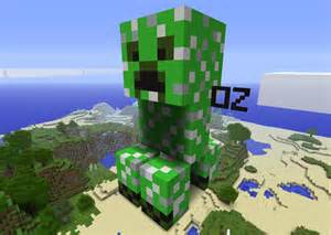 Minecraft Creeper Side View