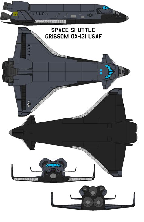Space shuttle Grissom OX-131 USAF by bagera3005.deviantart ...