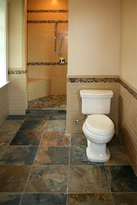 suitable bathroom floor tile ideas