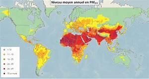 Carte Pollution Air : 4 la pollution de l air dans le monde ~ Medecine-chirurgie-esthetiques.com Avis de Voitures