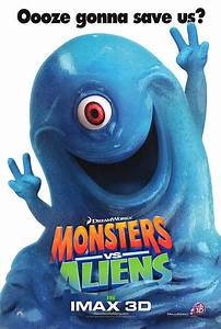 Monsters Vs. Aliens movie posters at movie poster ...