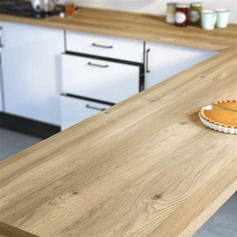 peinture sur stratifié cuisine plan de travail stratifié effet chêne boréal mat l 300 x p