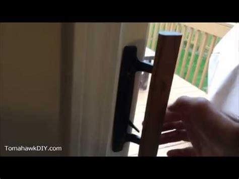 fix sliding glass door lock youtube sliding