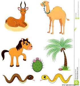 Desert Animals Clip Art