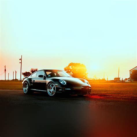 | Ar43-porche-art-sunset-nature-supercar