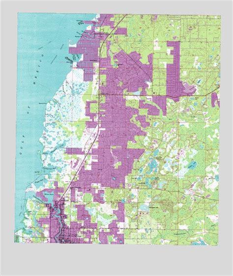 port richey fl topographic map topoquest