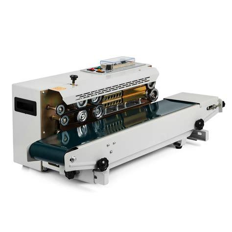automatic plastic bag sealing machine band sealer horizontal fr  continuous ebay