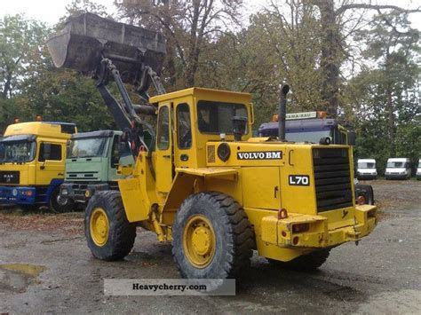 volvo l70 air 1989 wheeled loader construction equipment and specs