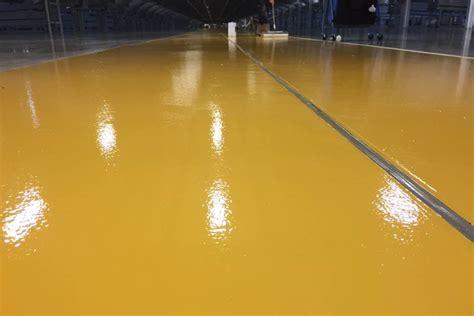 epoxy floor yellowing yellow epoxy floor