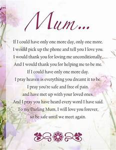 Thinking of my Mum as we prepare to finally lay her to ...
