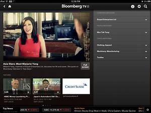 Bloomberg Upgrades TV+ iPad App to Include Asia Shows