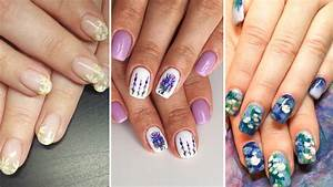 21 floral nail designs that are for the summer