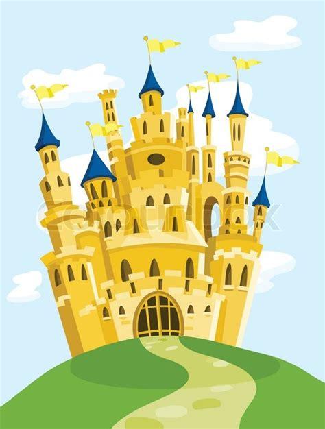 home building plans free magic castle stock vector colourbox