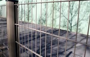 Panneaux Soudes Gris Anthracite : panneaux rigides gris panneau grillage rigide gris ~ Edinachiropracticcenter.com Idées de Décoration