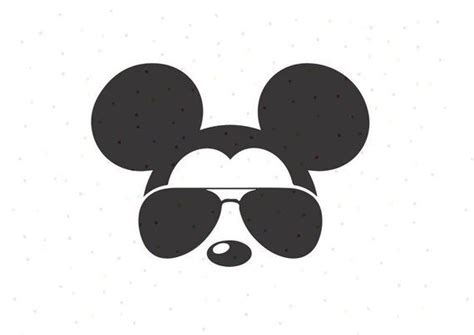 Start with a circle shape using the shape tool. Mickey Mouse Sunglasses SVG, PNG, Instant Download, Cricut ...