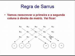Determinante 4x4 Matrix Berechnen : aprenda v deo aula regra de sarrus determinantes de ordem at 3 s exerc cios ~ Themetempest.com Abrechnung