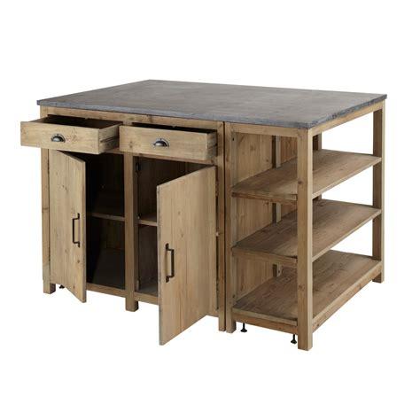 meuble central de cuisine meuble pour ilot central cuisine hotte de cuisine design