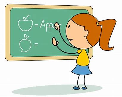Writing Clipart Chalkboard English Class Transparent Graphics