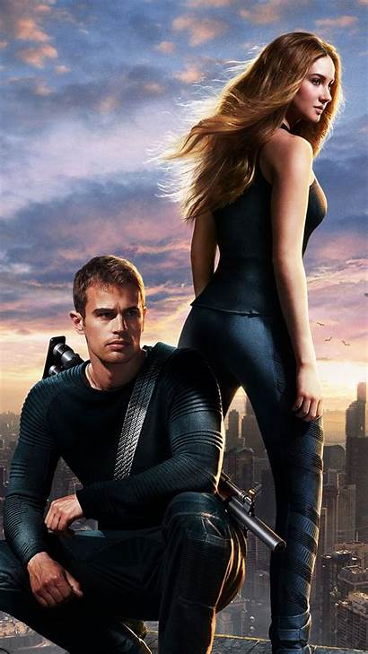Divergent Poster Characters Iphone Android Movies Wallpapers