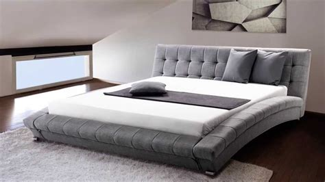black upholstered how big is a king size bed mattress