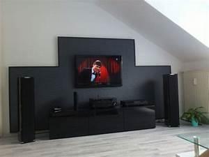 Tv An Wand Anbringen : bilder eurer steinw nde kiesbetten racks geh use hifi forum seite 66 ~ Markanthonyermac.com Haus und Dekorationen
