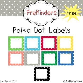 polka dot labels on polka dot classroom 855 | 32cdb2849dc04b207cda12fed6dd613d