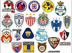 Escudos Futbol Mexicano Paquete Archivos P Bordado