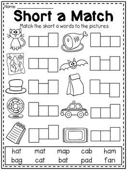 mega cvc worksheet pack pre  kindergarten