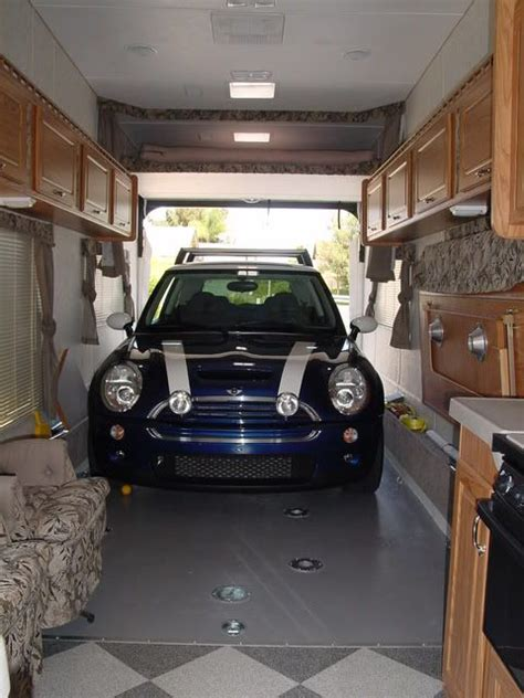 images  rv toy hauler  pinterest